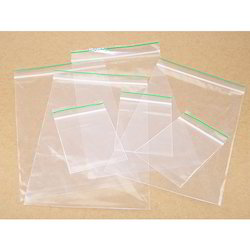 Transparent White Packaging Poly Bag