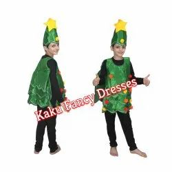 Kids Christmas Tree Cut Out Costume