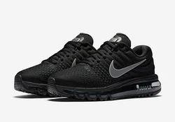 215594b27d4f Black Nike Airmax 2017 Nike Shoe, Size: 7, 8, 9, 10, Rs 1900 /pair ...