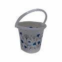 Plastic Printed Water Bucket