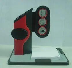Black And Red Plastic Pen Holder