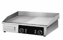 Electric Griddle Half Flat Half Griddle