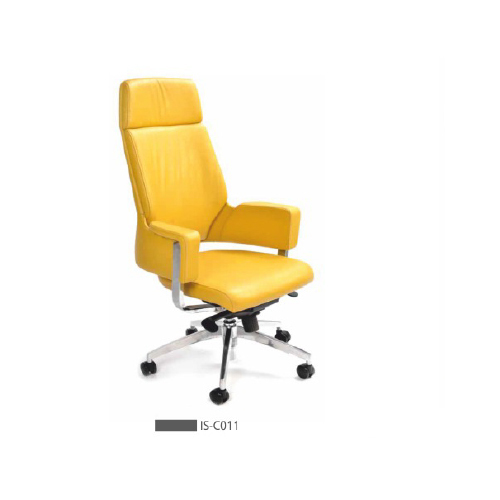 Yellow High Back Office Chair Wheel 5 Rs 24000 Piece Perfect