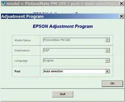 Epson PM 245 Resetter Softwares Availble