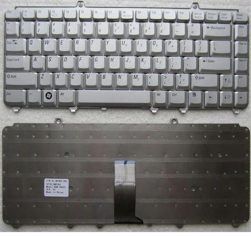 Dell Inspiron 1525 Laptop Silver Keyboard