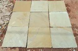 Yellow Mint Sandstone Paving Slabs