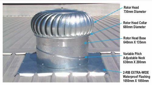 Stainless Steel Bv Roof Ventilators Vighneshwar