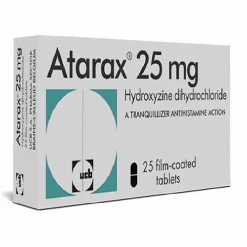 Atarax 25 mg Tablets - Drugs Home Page