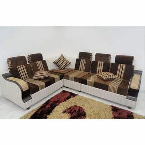 Solid Wood Living Room Sofa Set Rs
