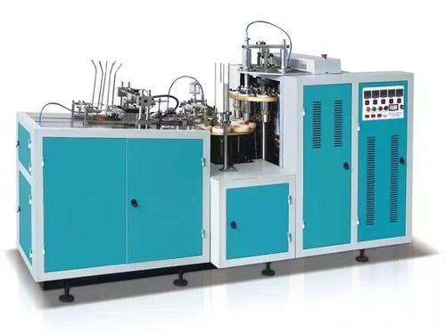 Stainless steel Single And Three Phase Dual 5 HP Ultra Sonic Paper Cup Machine, 220 Volt, Warranty: 1 Year