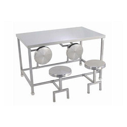 Mini Cafeteria Table With Chair
