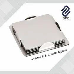 Customize Steel Coaster Set