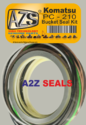 Pc210 Bucket Seal Kit Komatsu -a2zseals