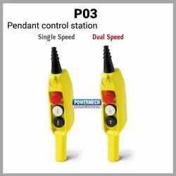 P03 Type Pendant Push Button Station