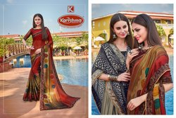 Designer Printed Saree - Diamond