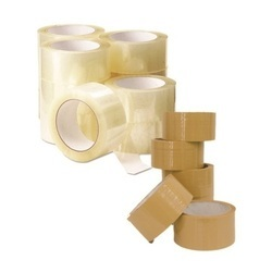 Transparent And White Adhesive BOPP Tapes, Thickness : From 36 to 65 Micron