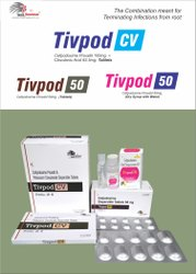 Cefpodoxime 100mg  Clavulanic Acid 62.5mg DT TABLET