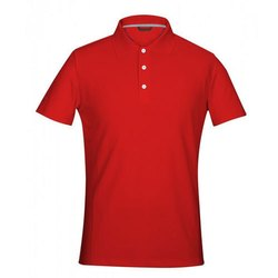Cotton Fabric Red T Shirts
