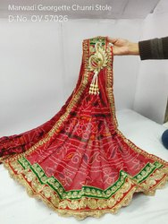 Embroidered Marwadi Stole