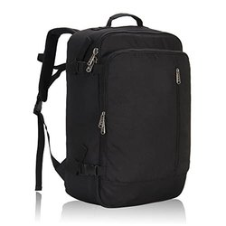 Polyester Black Travel Backpack