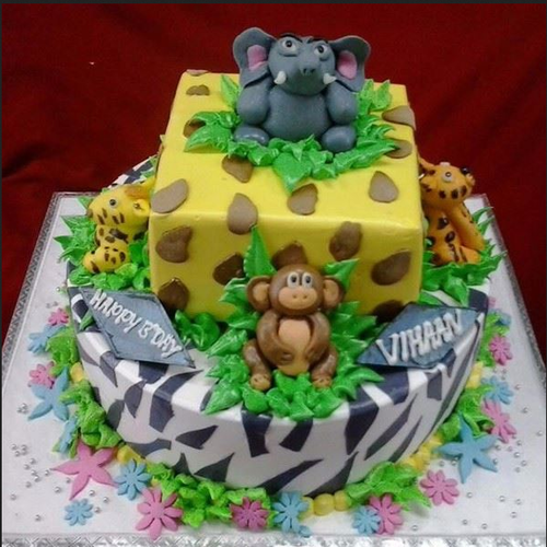 Jungle Theme Cake at Rs 3800 kilogram Theme Cake ID 17269048348