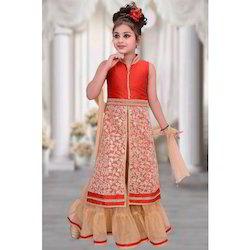 19adf88d3 Baby Girls Kids Designer Front Open Dress, Rs 1095 /piece | ID ...