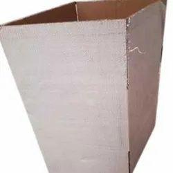 Rectangular Corrugated Square Plain Box