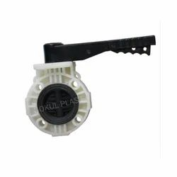 Wafer Type PP Butterfly Valve