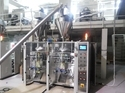 Twin Collar FFS Machine With Servo Driven Auger Filler