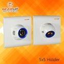 Gearup White 5 X 5 Bulb Holder, 5x5