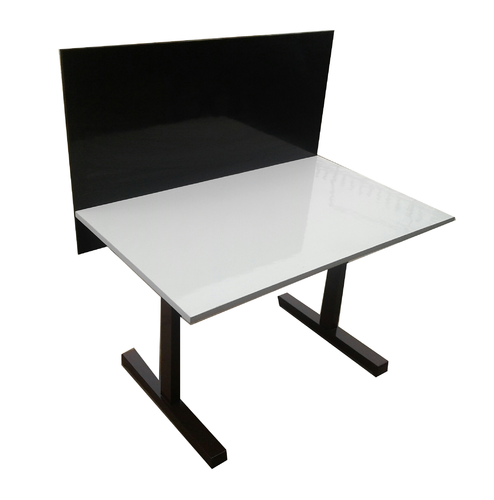 Wooden L Shape Clarity Working Table, Size (Feet): 1x2foot