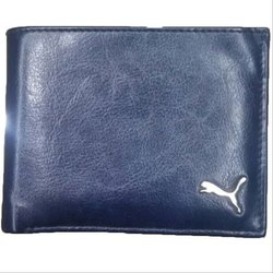 Blue Male Puma Mens Wallet