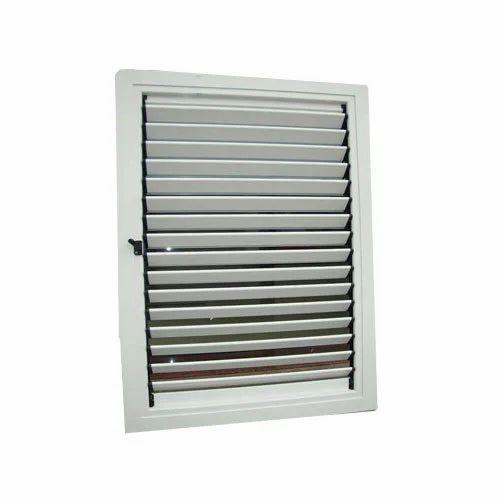 UPVC Adjustable Louver Window