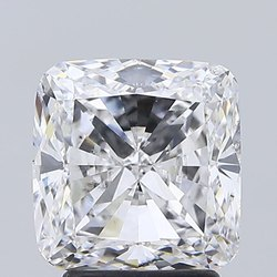 Cushion cut 3.02ct Lab Grown Diamond CVD F VS2 IGI Certified Stone