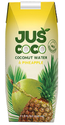 Juscoco Yellow Pineapple With Coconut Beverage Supplier, Packaging Size: 330 Ml