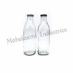 1 L Milk Glass Bottle