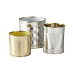 Cylindrical Tin Can