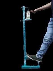Mild Steel Foot Operated Hand Sanitizer Dispenser