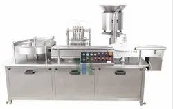 Automatic Eight Head Liquid Vial Filling Stoppering Machine