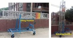 Aluminium Tiltable Telescopic Tower Ladder