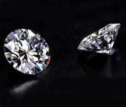 DEF VVS Colorless Round Cut Moissanite Diamond