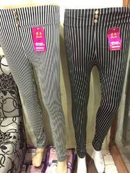 Pleated Pants Black White Zadine Lining Pant Rs 110 Piece Id