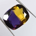 Bio Color Ametrine Loose Gemstone For Making Jewelry