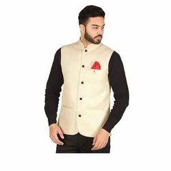 Cotton Grey Hartmann Nehru Jackets, Size: S-xxl