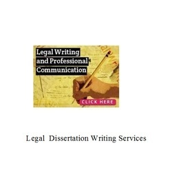 Legal  Dissertation Writing Services Consultancy