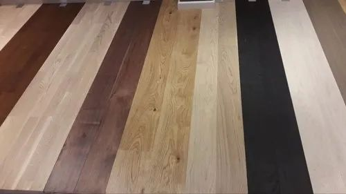 Multi Color Wooden Flooring
