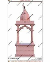 Pink Sandstone Temple