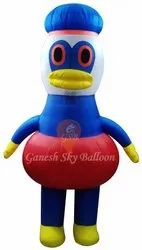 Donald Duck Character Walking Inflatables