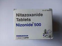 500 mg Nitazoxanide Tablet