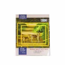 Eco White Rough Note Book, Size: 25.7 x 21 cm